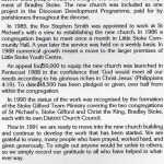 Appeals were held to raise the money to build Christ the Kings Church