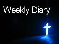 Weekly Diary button